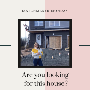 Matchmaker Monday - Concord Way, Enfield, NS