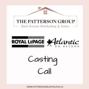 Casting call in Halifax for homeowners or home buyers who want to buy or sell a home.